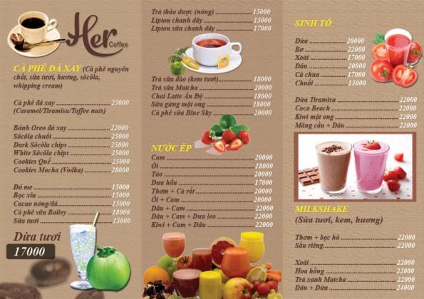 menu-cafe