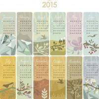 2015 calendar cards kalender creatief