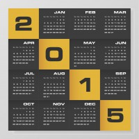 2015 company calendar kalender creatief