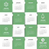 Classic 2015 kalender creatief