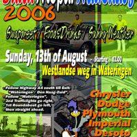 Flyer-ontwerp Dutch Mopar Nationals 2006
