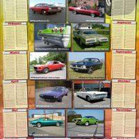 Kalenderposter DutchMuscleCars.com - MuscleCars