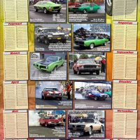 Kalenderposter DutchMuscleCars.com - StreetMachines
