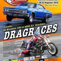 Flyer-ontwerp Dragracing Drachten Algemeen 2010