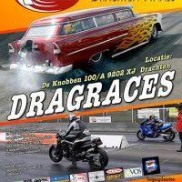 Poster-ontwerp Dragracing Drachten Finals 2010
