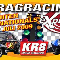 Stickerontwerp Dragracing Drachten Internationals - 2009