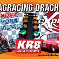 Stickerontwerp Dragracing Drachten Goodridge Finals - 2009