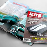 Opmaak KR8 Cruise Magazine