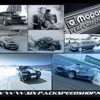 Canvas Artrint collage TeamMopar SixPackSpeedshop.nl